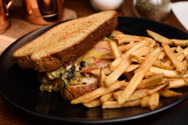 Gourmet Grilled Veggie Sandwich