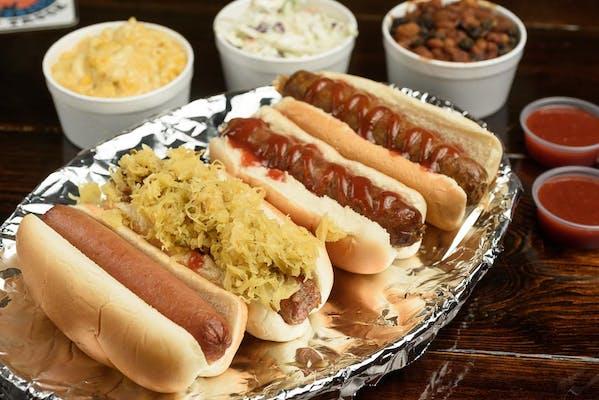 Smoked Hot Dog