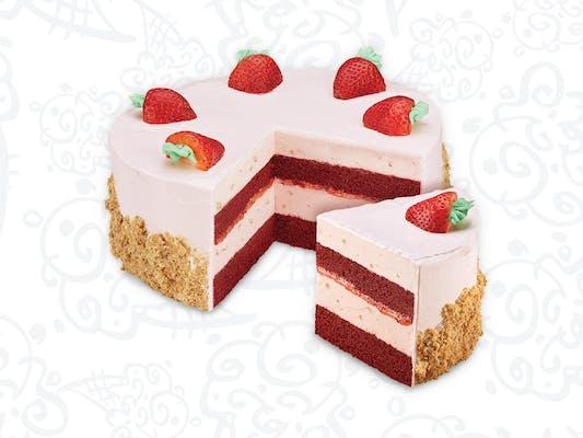 Strawberry Passion Ice Cream Cake