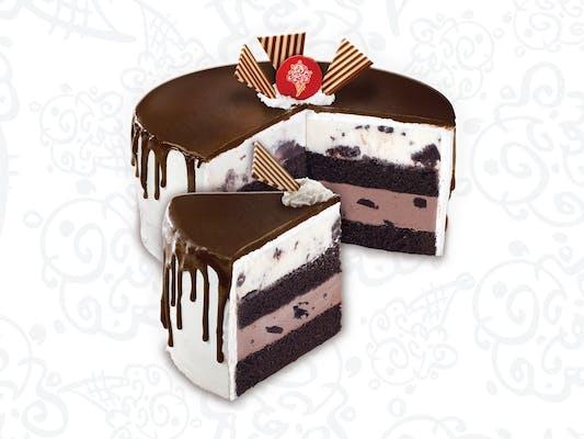 Tall, Dark & Delicious Ice Cream Cake