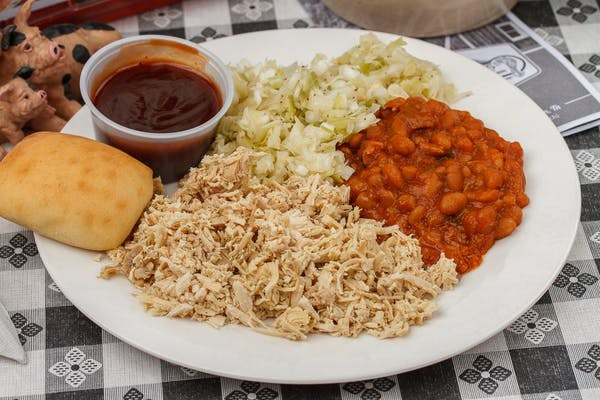Barbecue Turkey Plate
