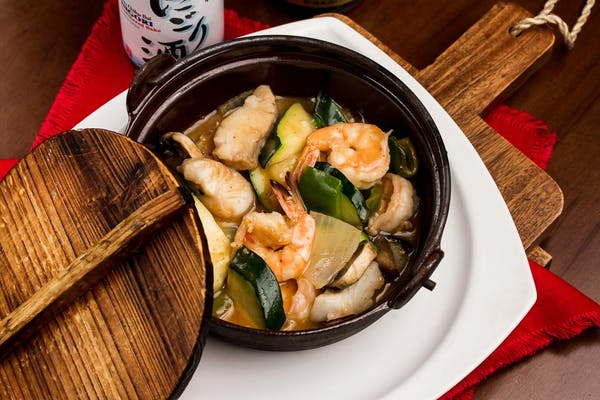 Thai Red Curry Seafood