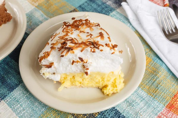 Coconut Meringue Slice