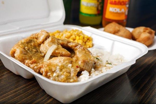 Pork Chop Combo Plate