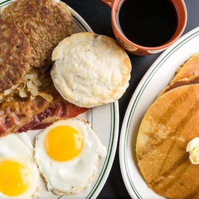Breakfast on Broad Platter