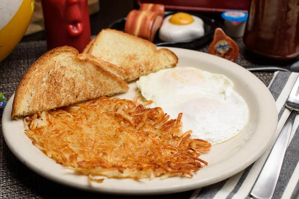 Two Eggs Plate