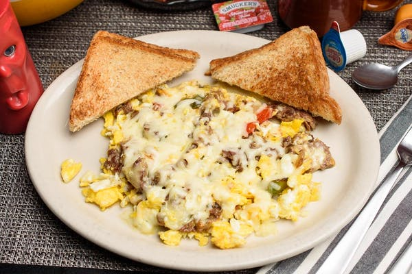 Philly Cheesesteak Scrambler