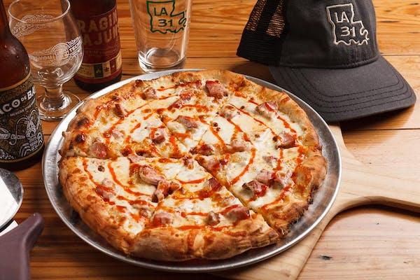 I'm a Rocket Ham Pizza