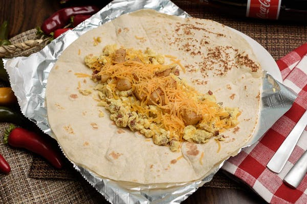 Potato, Egg & Cheese Burrito