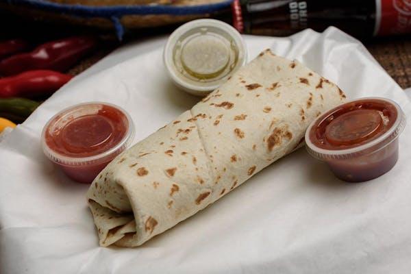 Beef, Bean & Cheese Burrito