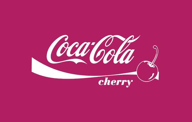 (20 oz.) Cherry Coca Cola
