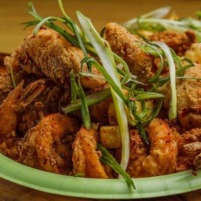 (6) Shrimp & (3) Chicken Strips