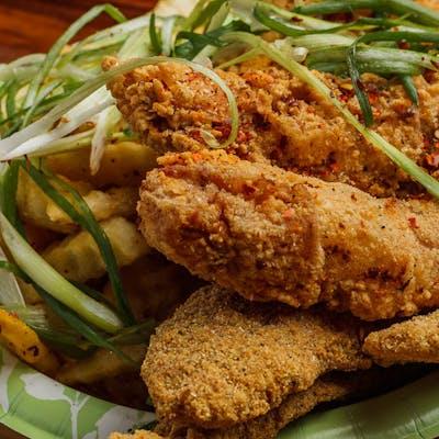 (3) Catfish & (3) Chicken Strips