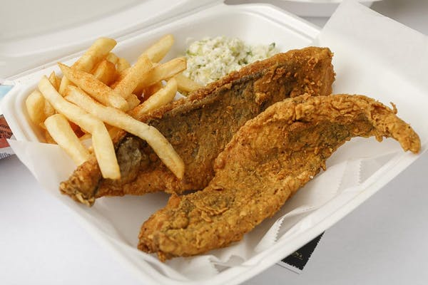 (2 pc.) Fried Flounder Combo