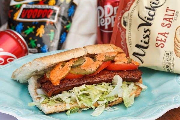 Grilled MS Cajun Sausage Po-Boy Combo