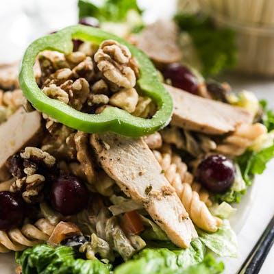 Curried Chicken Pasta Salad