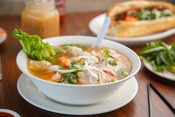 36. Wonton Egg Noodle Soup