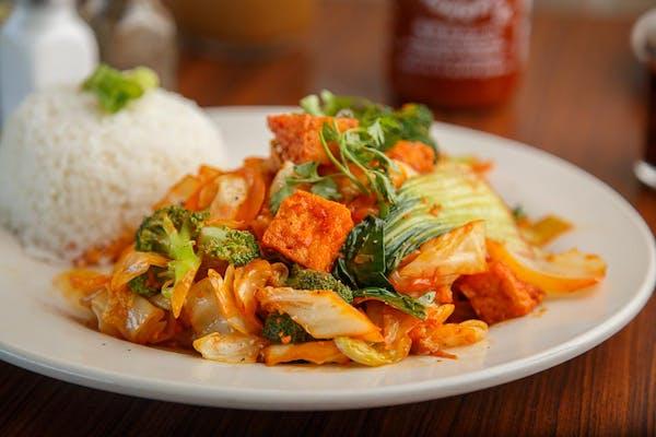 58. Sautéed Vegetable Rice Dish