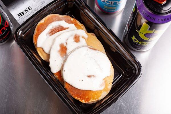 Cinnamon Roll Protein Pancake