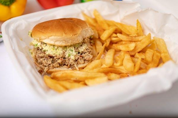 Turkey BBQ Sandwich
