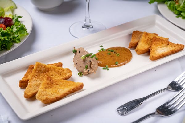 Featured Appetizer:  Chicken Liver Mousse