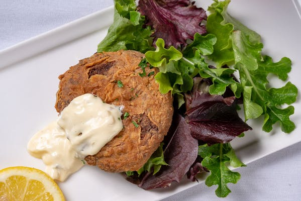 Stuffed Crab Patty