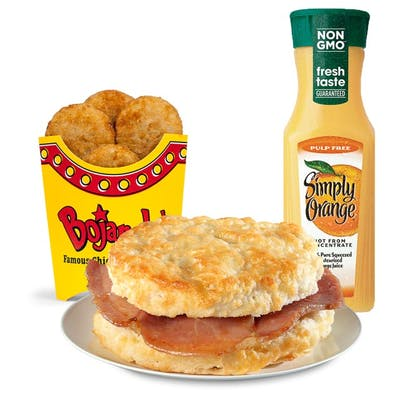 Country Ham Biscuit Combo