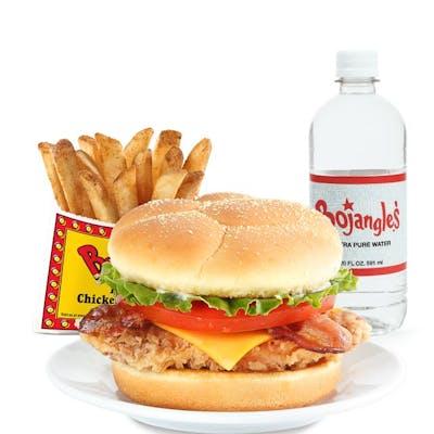 Cajun Fillet Club Sandwich Combo