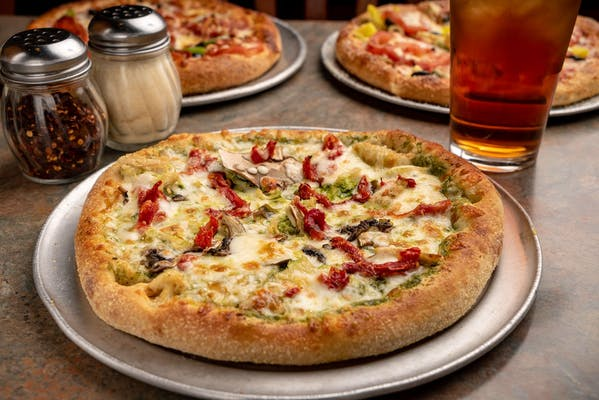 Brick Oven Pesto Pizza