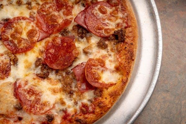 Mega Meat Pizza