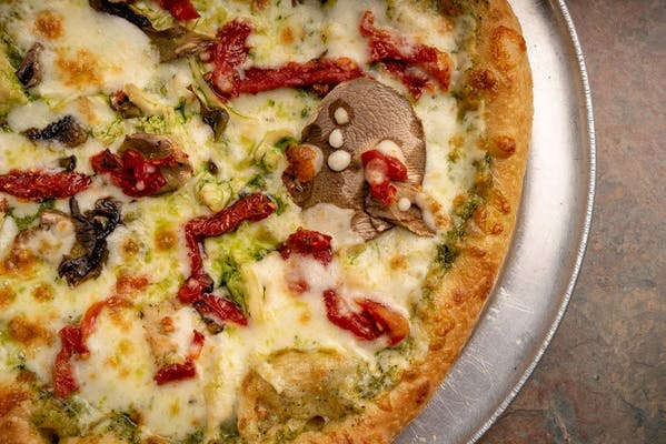 Brick Oven Pesto Pizza
