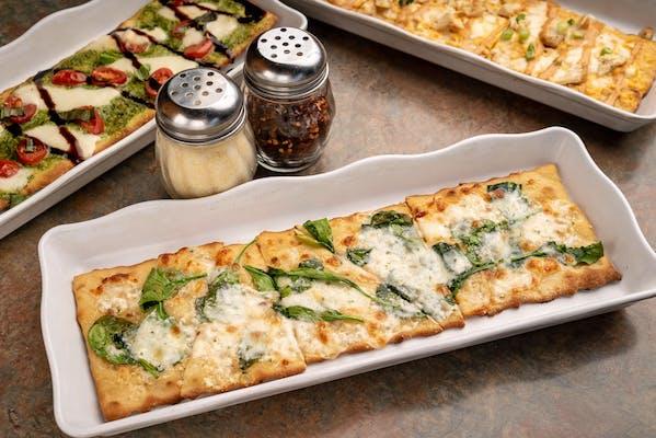 Bianco Spinach Flatbread Pizza