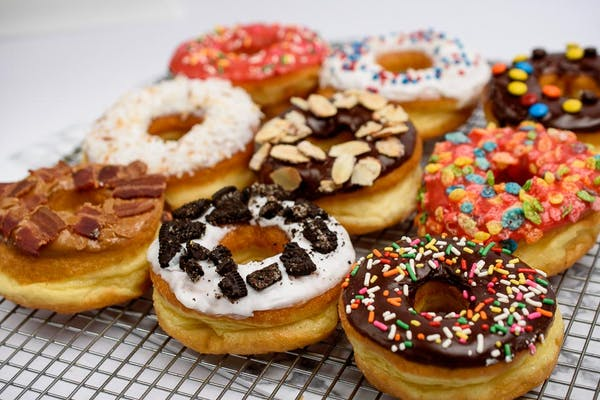 Fun Donuts w/Toppings (Bakers Choice)