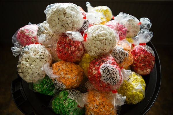 2 pc Popcorn Balls