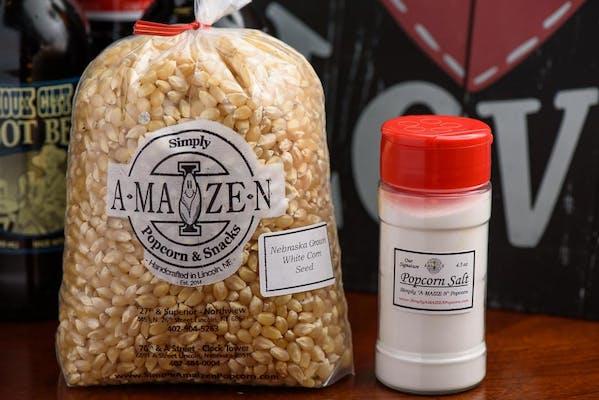 Popcorn Seed - White