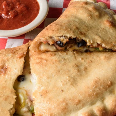 Build Your Own Large Cheese Calzone