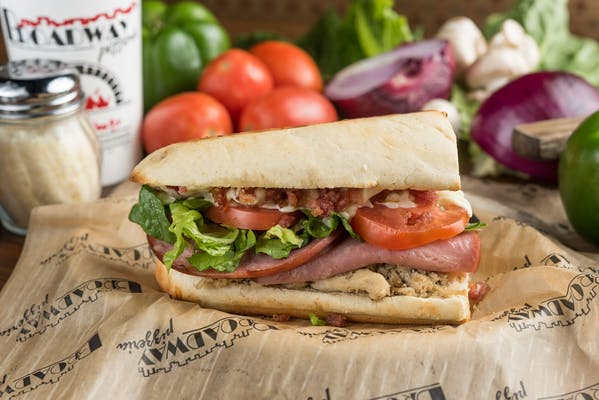 Grilled Chicken Club Hoagie
