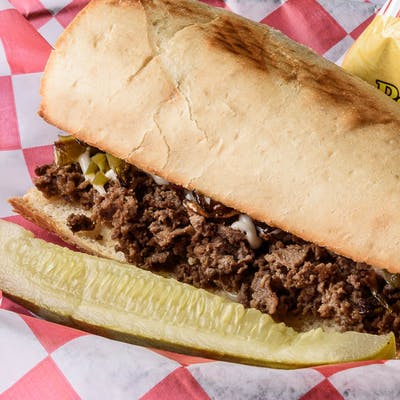 Cheesesteak Hoagie