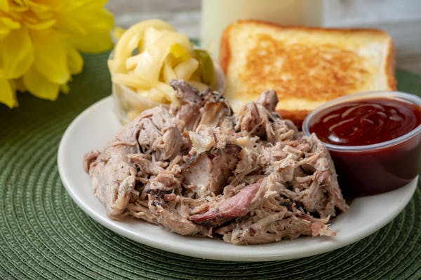 Pulled Pork Barbecue Dinner
