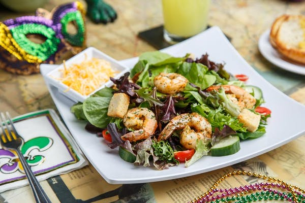 Grilled Cajun Shrimp Salad