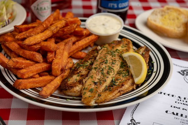 Grilled Catfish Special