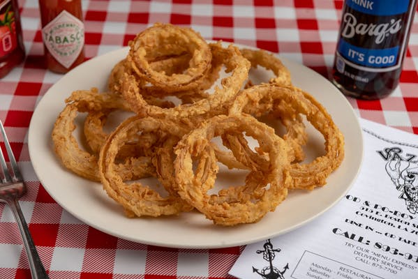 Side Homemade Onion Rings