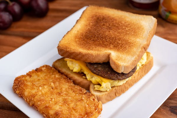 Sausage Patty, Egg & Cheese Sandwich