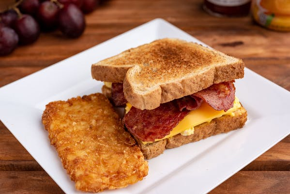 Turkey Bacon, Egg & Cheese Sandwich