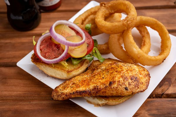 Grilled Chicken Sandwich Meal