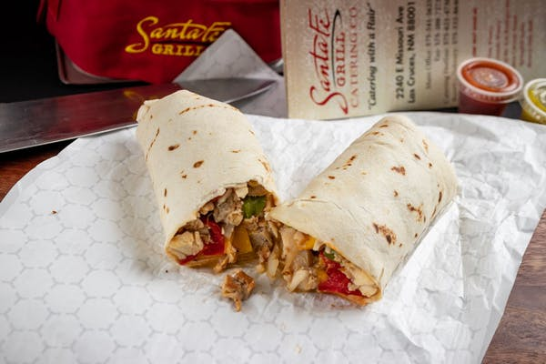 Combo Fajita Burrito
