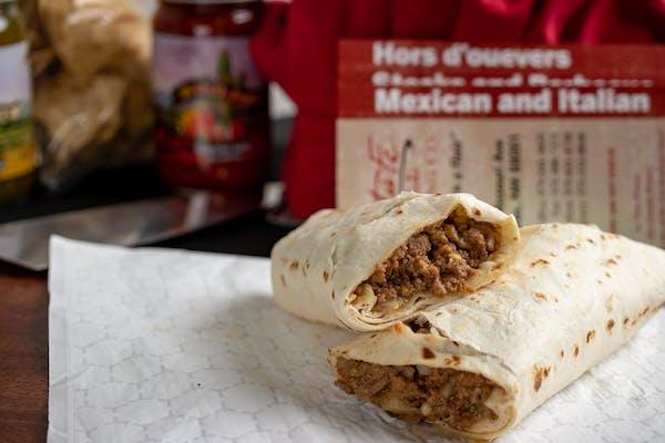 Eye-Opener Burrito
