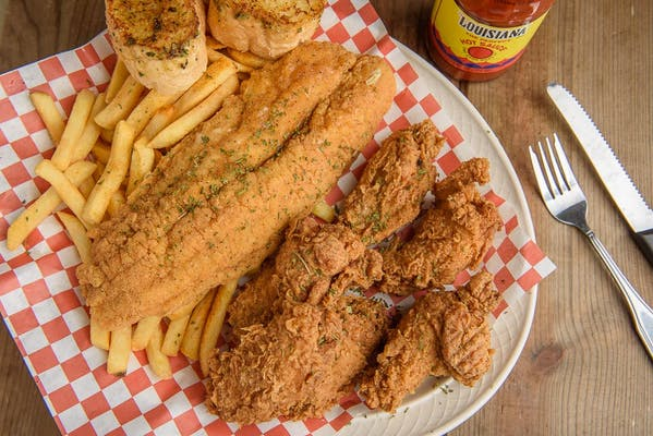 Chicken & Fish Platter
