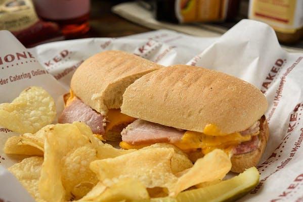 Betta Ham & Chedda Sandwich