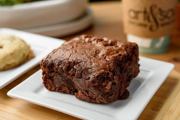 Triple Chocolate Ghirardelli Brownie
